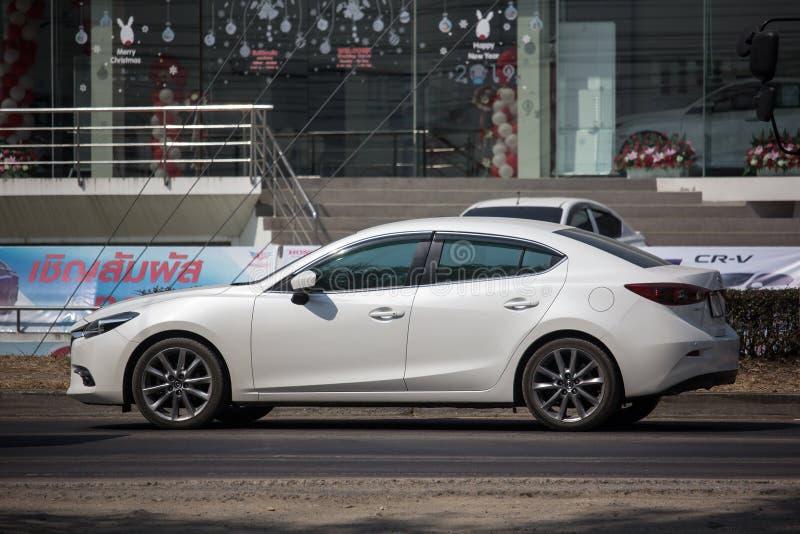 Privé Stadsauto, Mazda 3 royalty-vrije stock afbeelding