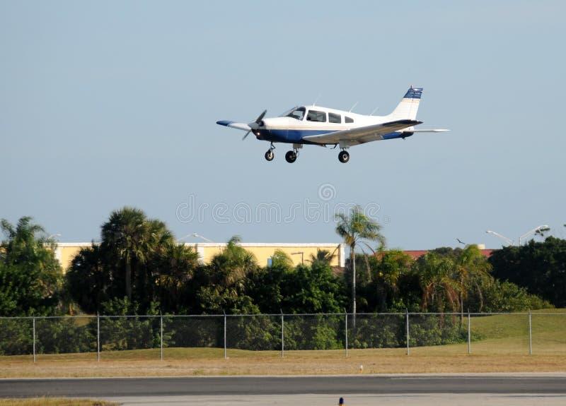 Privé vliegtuig royalty-vrije stock foto's