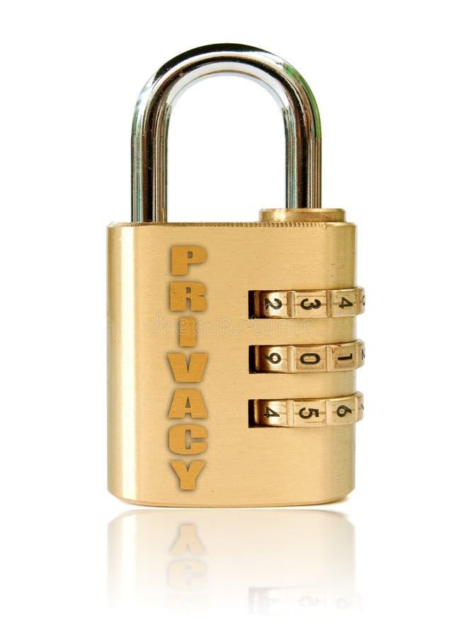 Privacidad fotografía de archivo