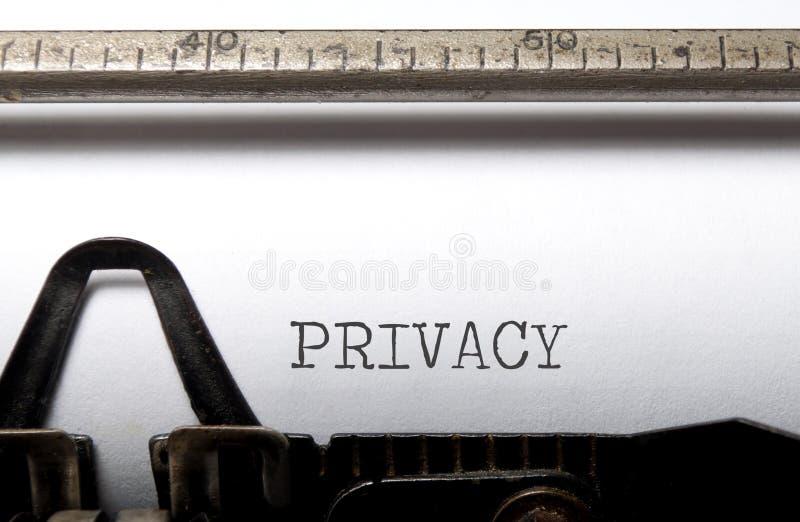 Privacidad imagen de archivo libre de regalías