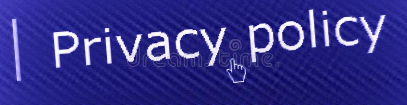 Privacy stock foto's