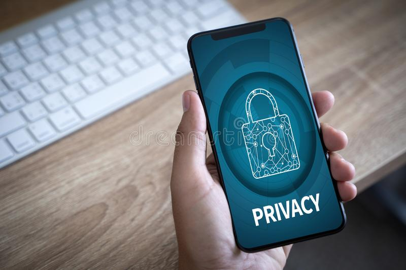 Privacy Access Identification Password Passcode and Privacy royalty free stock photography