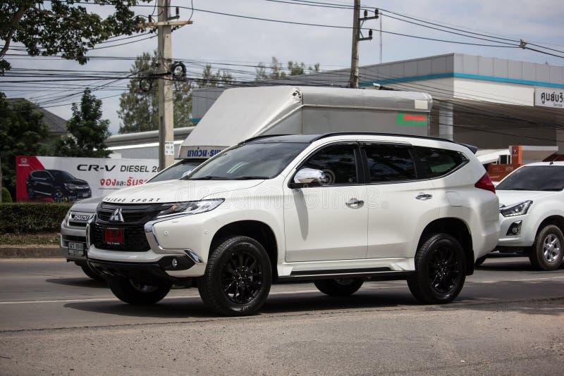 Privat-Auto Mitsubishis Pajero Suv lizenzfreie stockfotos