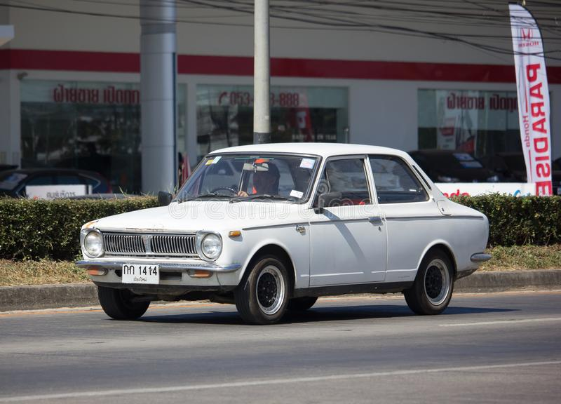 Privat gammal bil, Toyota Corolla royaltyfri fotografi