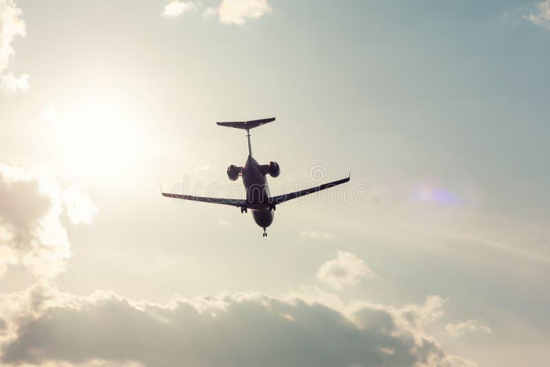 privat landningnivå royaltyfria bilder
