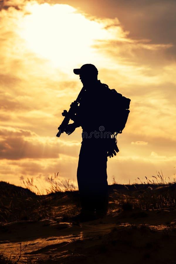 Privat militär leverantör fotografering för bildbyråer