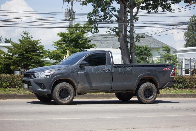 Privat pickupbilToyota Hilux Revo 4X4 Diff lås arkivbilder