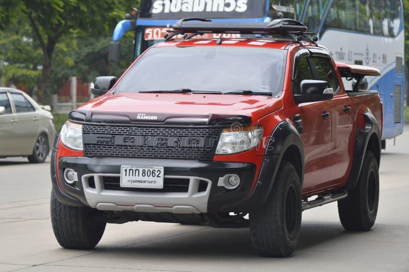Privat uppsamlingsbil, Ford Ranger arkivfoton