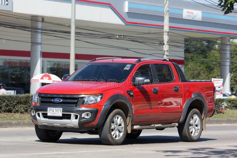 Privat uppsamlingsbil, Ford Ranger royaltyfri fotografi