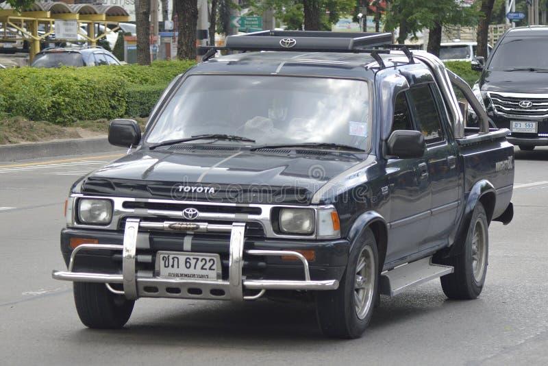 Privat uppsamlingsbil, Toyota HILUX TIGER D4D royaltyfria foton