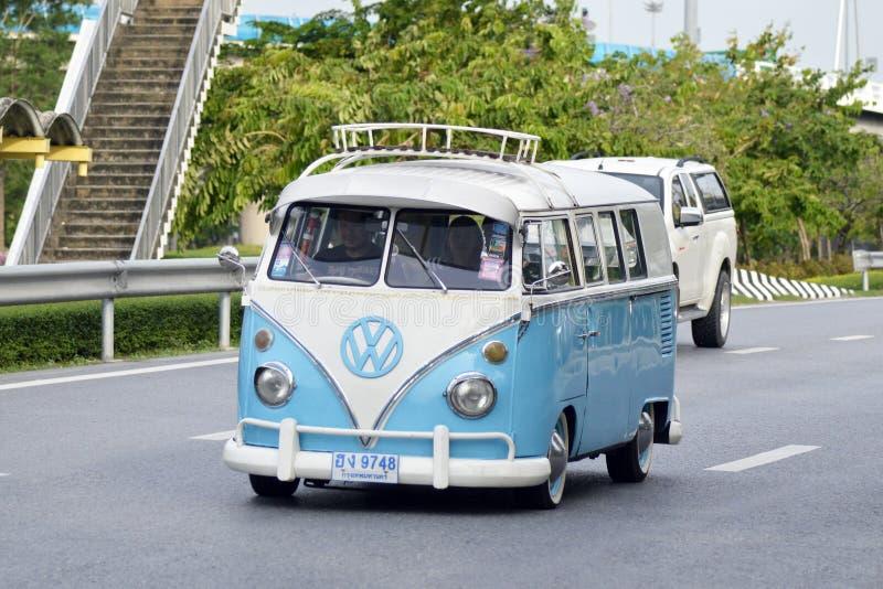 Privat uppsamlingsbil, Volkswagen typ II royaltyfria foton