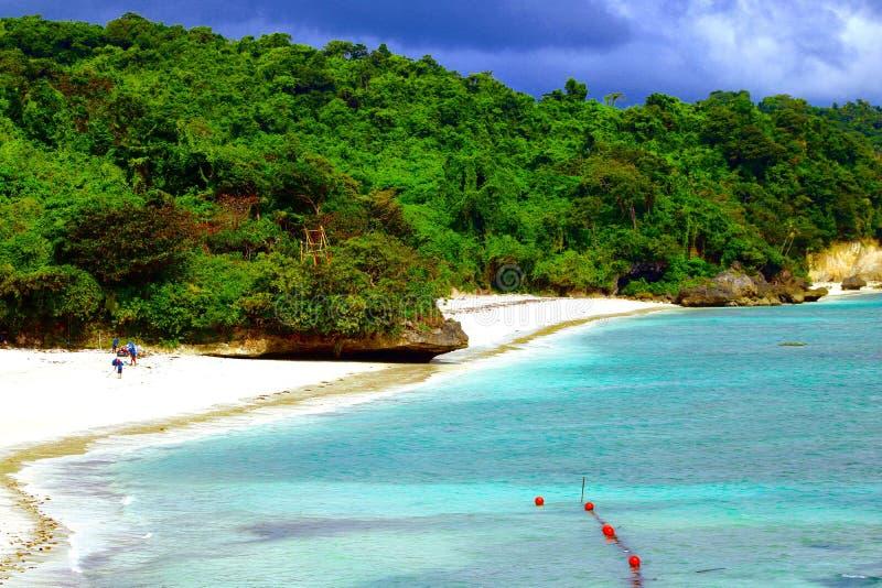 Privata strandfarleder och Bluewater Boracay arkivfoto