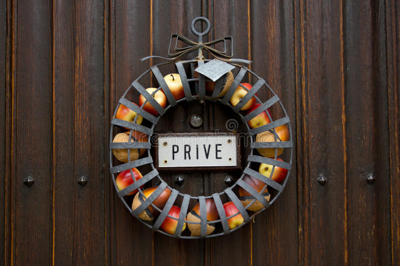 Download Private stock image. Image of peephole, sign, door, entitlement - 29471799