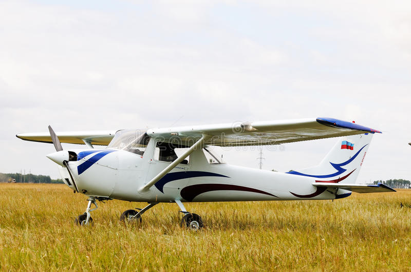 Private airplane stock images