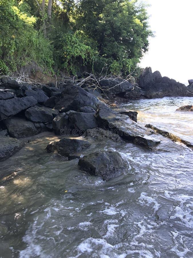 Tobago cove stock image