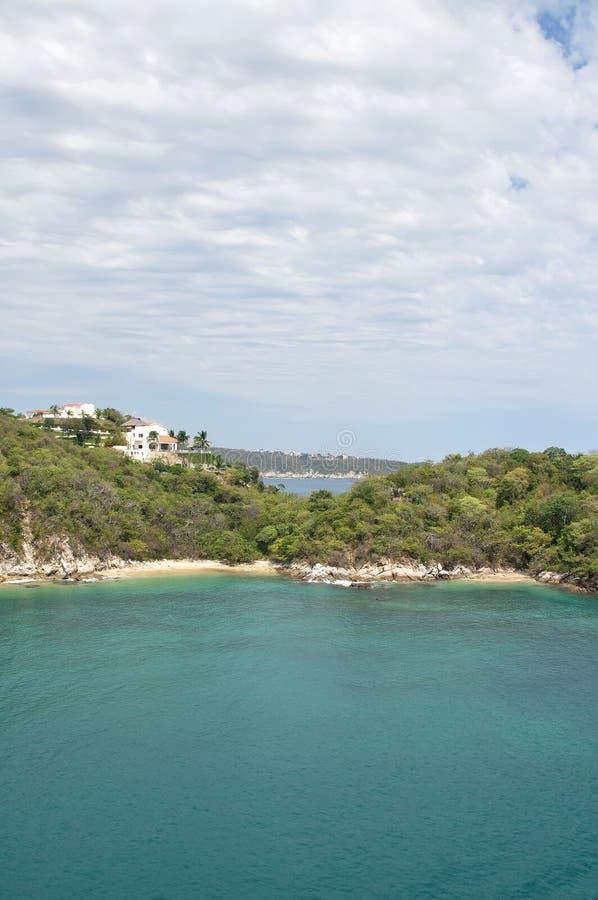 Private beaches royalty free stock photos
