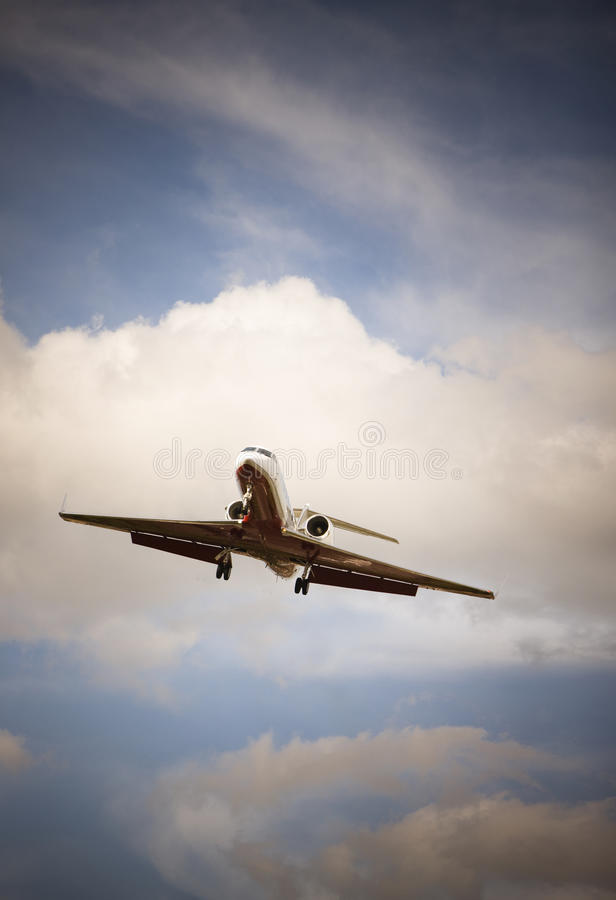 Private Business Jet stock photo