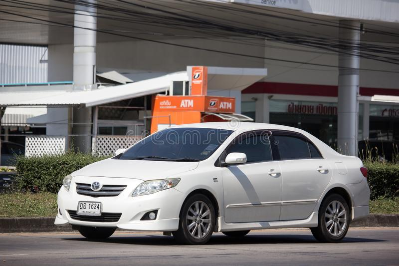 Private car, Toyota Corolla Altis royalty free stock photography