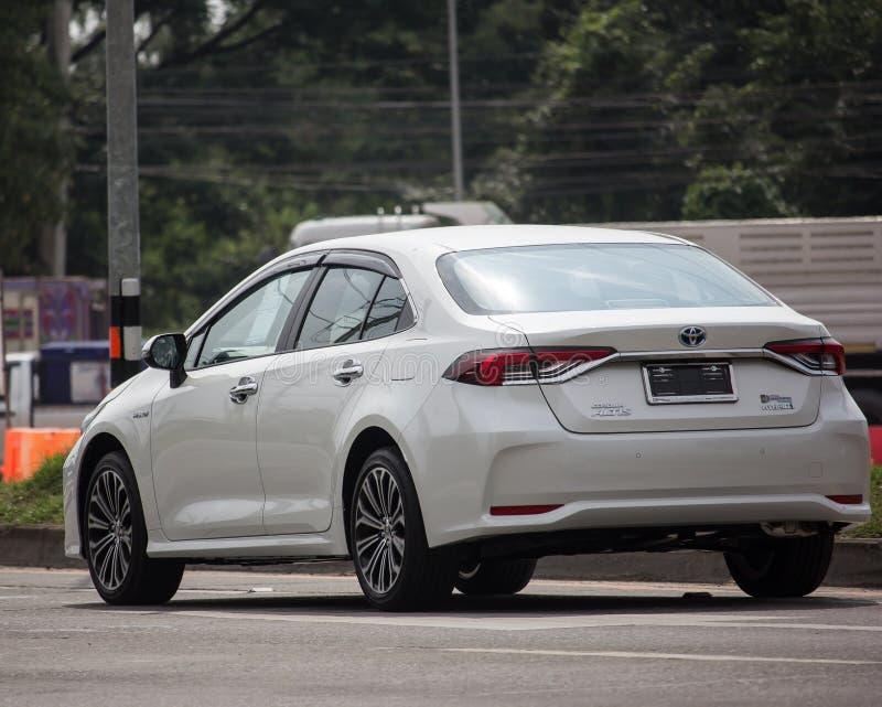 Private car, Toyota Corolla Altis. Twelfth generation stock image