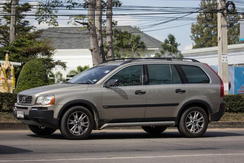 Private car, Volvo XC90 stock photography