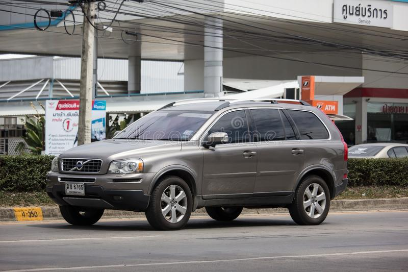 Private car, Volvo XC90 stock photo