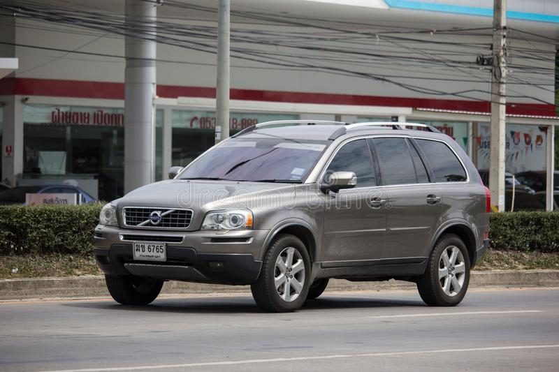 Private car, Volvo XC90 royalty free stock images
