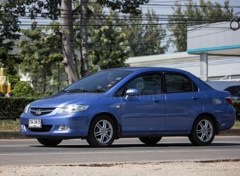 Private city Car Honda City royalty free stock images
