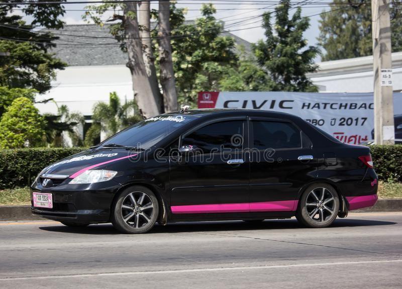 Private city Car Honda City royalty free stock photo