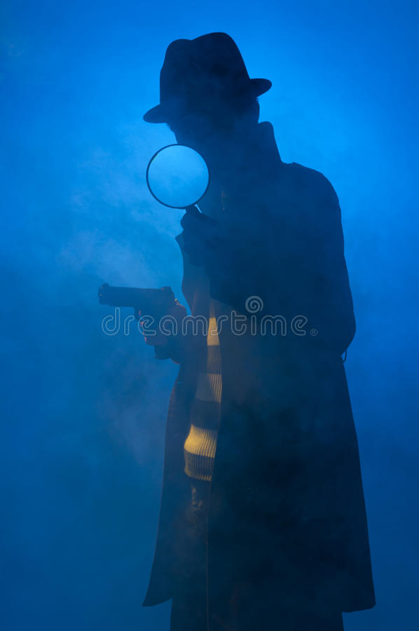 Free Private Detective Royalty Free Stock Images - 17899349