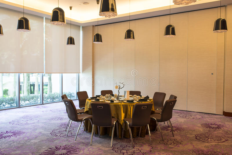 Private Dining Room Stock Image