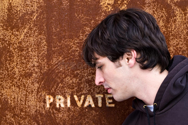 Download Private Doorway stock photo. Image of criminal, entrance - 15105008