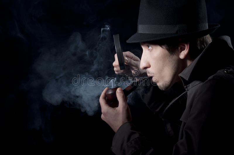Private Eye royalty free stock photo