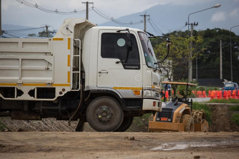 Private Hino Dump Truck royalty free stock image