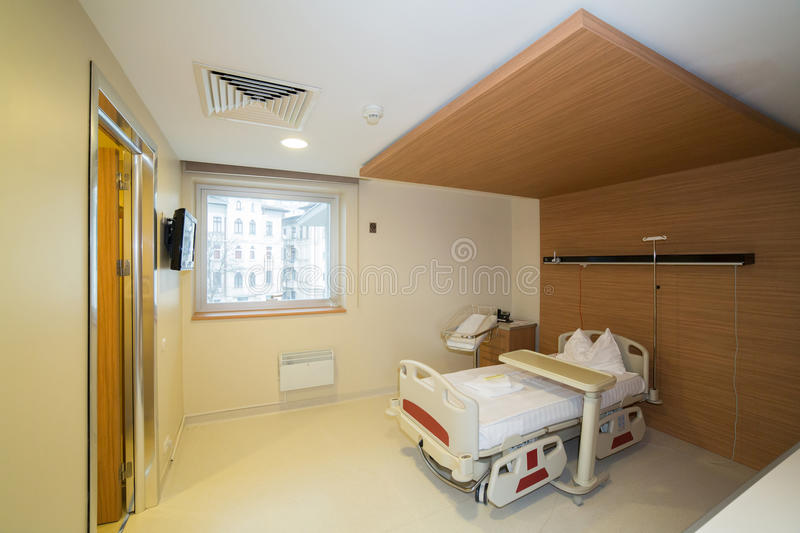Download Private hospital room stock photo. Image of medical, room - 83482736
