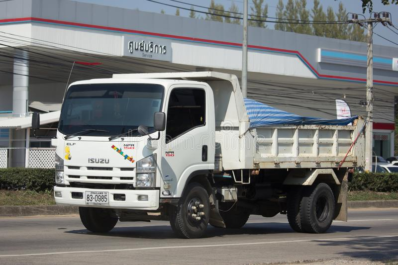 Private Isuzu Dump Truck stockfoto
