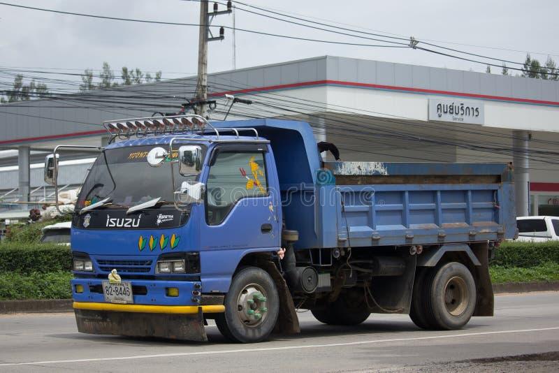 Download Private Isuzu Dump Truck redaktionelles stockfotografie. Bild von groß - 96935072