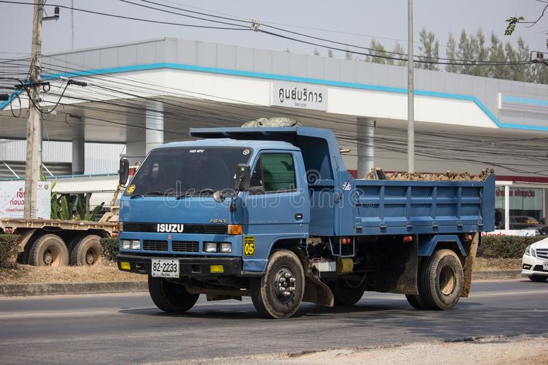 Private Isuzu Dump Truck stock photo