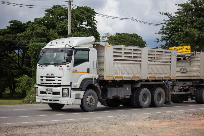 Private Isuzu Dump Truck stock photos
