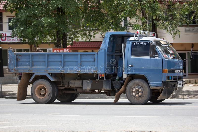 Private Isuzu Dump Truck royalty free stock photo