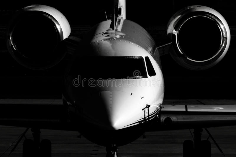 Private Jet stock photography