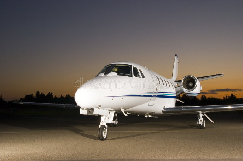 Download Private jet stock photo. Image of lights, cockpit, engine - 2492872