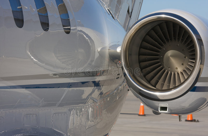 Private Jet Abstract royalty free stock photos