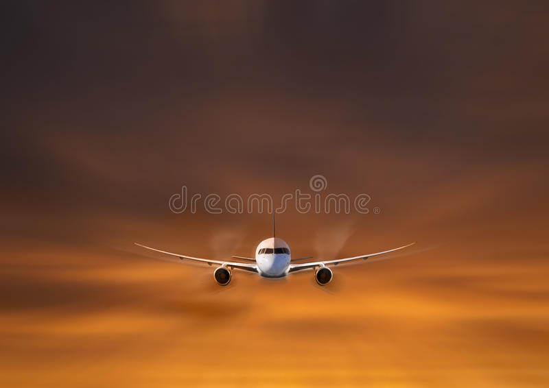 Download Private jet flying stock photo. Image of luxury, transportation - 25380588