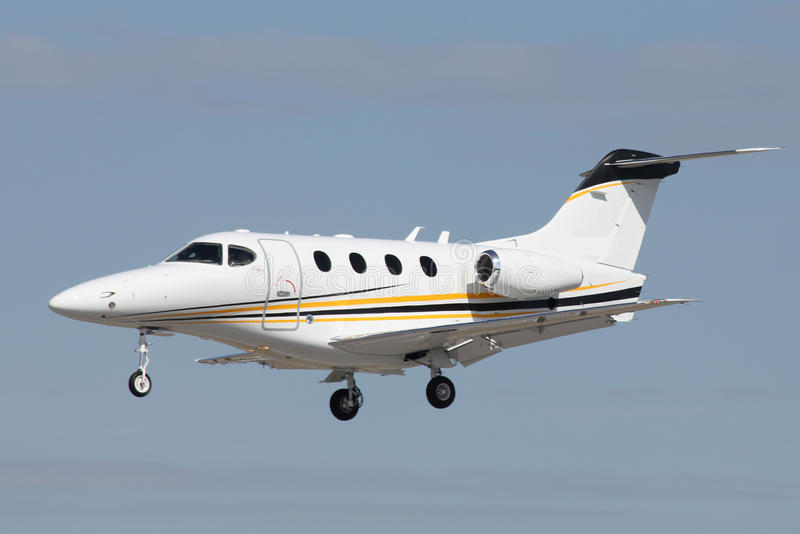 Download Private jet stock image. Image of approaching, beechcraft - 30646839