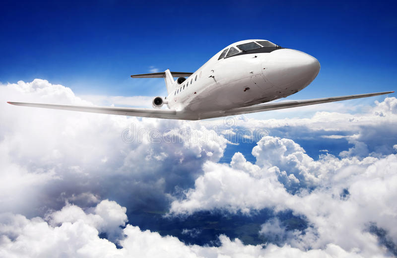 Download Private jet plane stock photo. Image of airliner, plane - 27833824