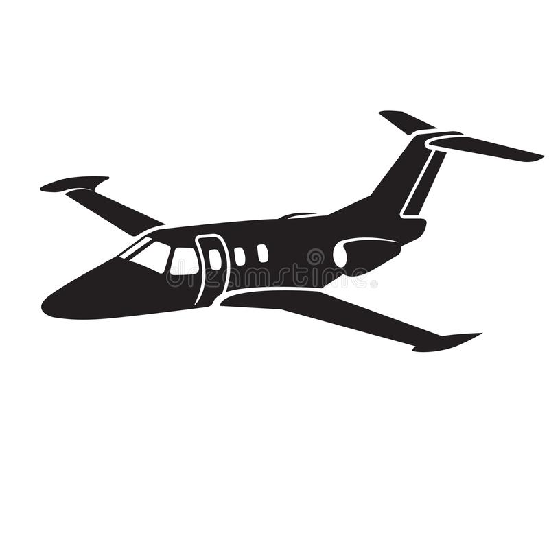 Free Private Jet Vector Icon. Business Jet Illustration Flat Design. Royalty Free Stock Images - 123329239