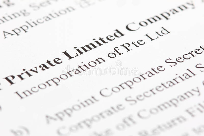 Private Limited stock images