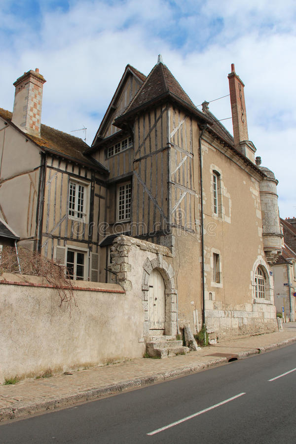 Private medieval house - Châteaudun - France royalty free stock images