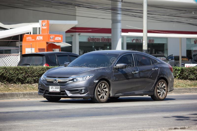 Private New Car Honda Civic Tenth generation royalty free stock image