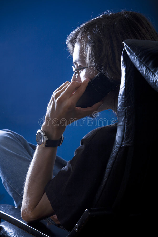 Download Private phone call stock photo. Image of discussion, gossip - 4572760